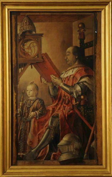 Pedro Berruguete Federico Da Montefeltro Con Il Figlio Guidubaldo